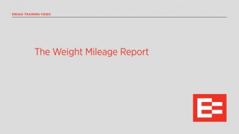 US The Weight Mileage Report