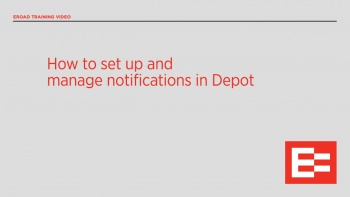 US04 R How to set up and manage notifications
