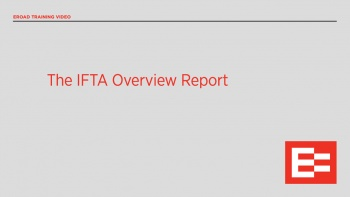 US41 R The IFTA Overview Report