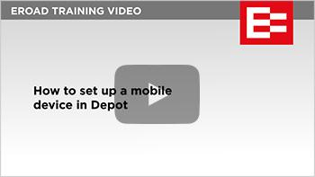 008 How to set up a mobile device in Depot thumb