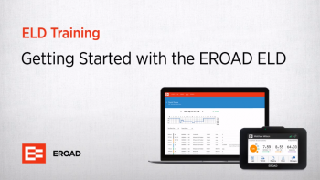 Getting Started with the EROAD ELD