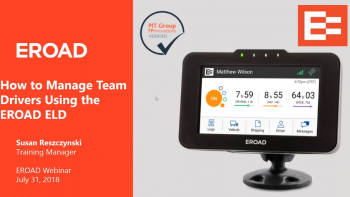 How to Manage Team Drivers Using the EROAD ELD