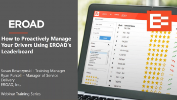 How to Proactively Manage Your Drivers Using EROADs Leaderboard