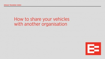 NZ How to share your vehicles with another org