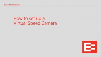 NZ36 R How to set up a Virtual Speed Camera