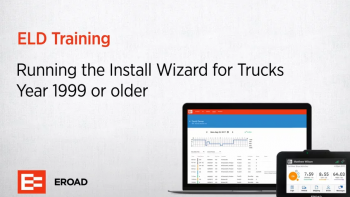 Running the Install Wizard for Trucks year 1999 or older