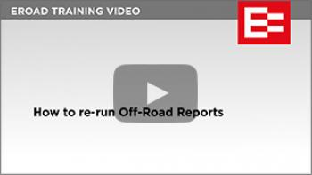 Video 15 How to rerun off road reports thumb